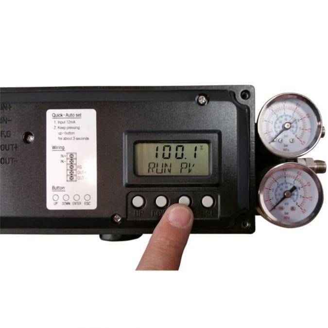HPP5500™ Intrinsically Safe Digital Positioner