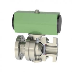 OpTB™ Trunnion Mounted V-Notch Ball Valve