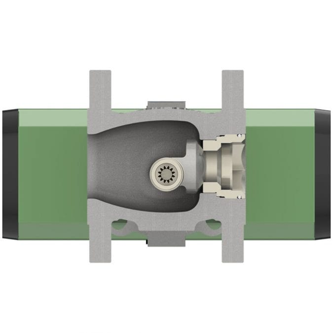 7-OpEXL Eccentric Plug Rotary Control Valve G4