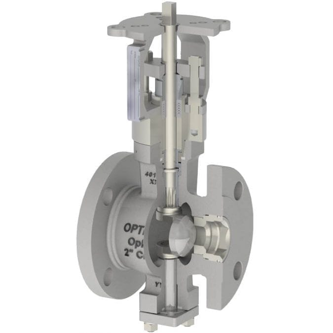 7-OpEXL Eccentric Plug Rotary Control Valve G5