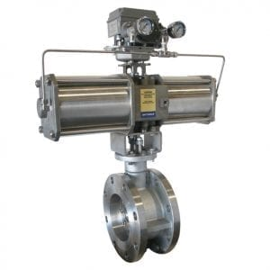 OpTE Triple Eccentric Butterfly Valve