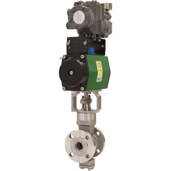 7-OpEXL Eccentric Plug Rotary Control Valve G1