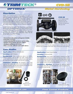 CVD-5B Metal Hardening Bulletin