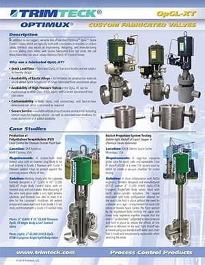 OpGL-XT™ Technical Bulletin